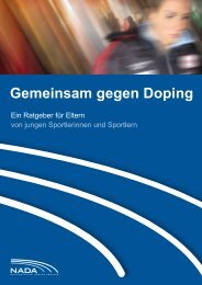 Gemeinsam gegen Doping - Selltec Communications GmbH