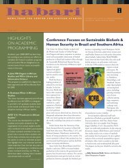 2008-09 - Center for African Studies - University of Illinois at Urbana ...