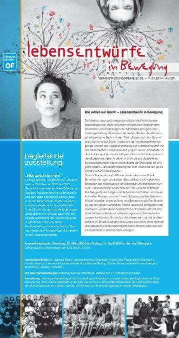 Informationsflyer - Hessische Landeszentrale für politische Bildung