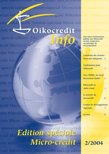 2 - Oikocredit