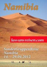 Namibia - lass uns reisen