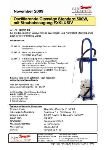 Weitere Produkte aus dem BÜHLER-Sortiment - Bühler-Instrumente ...