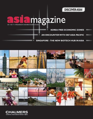 DISCOVER ASIA! - Chalmers International Taiwan Office