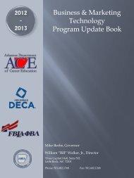Business & Marketing Technology Program Update Book - Arkansas ...