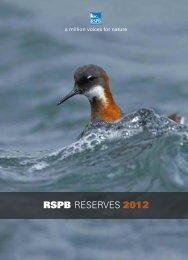 RSPB reserves 2012