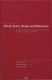 MIND, BRAIN, BODY AND BEHAVIOR - Office of NIH History ...