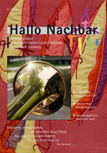 HN 2 - 2012 - Evangelische Martin-Luther-Gemeinde