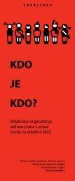 2008/2009 KDO JE KDO? - Ljubljana