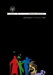 Výroční zpráva / Annual Report / 2009 - Národní muzeum