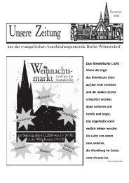 Dezember 2008 - Auenkirche Berlin-Wilmersdorf
