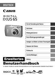 Digital IXUS 65 IXUS_65_ERWEITERTE_DE.pdf - canon.de