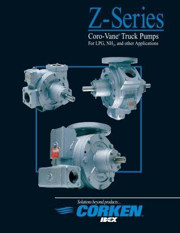 Coro-Vane® Truck Pumps - Acme Fluid Handling