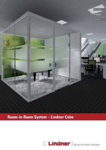 Raum-in-Raum System – Lindner Cube - Quadro-Office-Nord