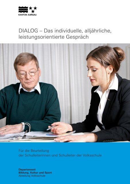 DIALOG – Das individuelle, alljährliche, leistungsorientierte Gespräch