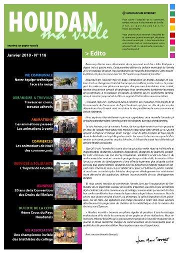 Houdan, ma ville – N° 118 - Communauté des Communes du Pays ...