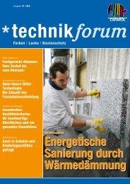 Energetische Sanierung durch  Wärmedämmung Energetische Sanierung  ...
