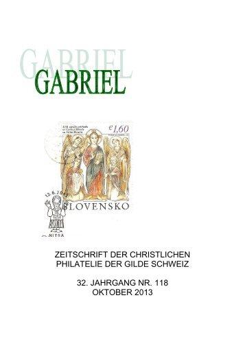 Bulletin-1-18 - Briefmarkengilde St. Gabriel Schweiz
