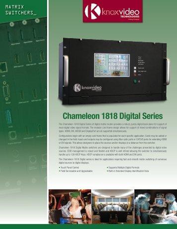 Download Full Specs (PDF) - Knox Video Technologies
