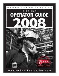 2008 NPA Pipeline Operator Guide - Region 5/6