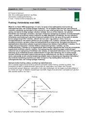 Fodring i forbindelse med AMS - LandbrugsInfo