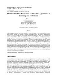 The Effect of Viva Assessment on Students' Approaches to Learning ...