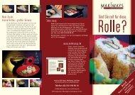 Maki-Sushi, kleine Rollen – großer Genuss Take ... - Schlemmerinfo