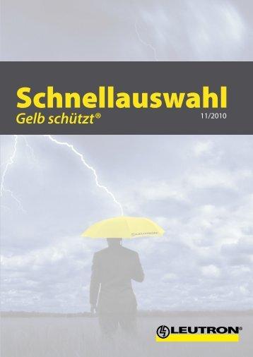 Schnellauswahl 2010 - Leutron GmbH