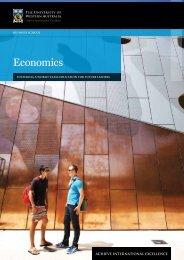 Economics - Business School - The University of Western Australia