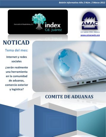 comité aduanas amac - bienvenidos asociacion de maquiladoras ac