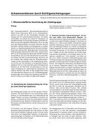 Schwerevariationen durch Erd-Eigenschwingungen - Institut für ...