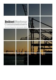 Annual Report & Accounts 2008 - Belfast Harbour