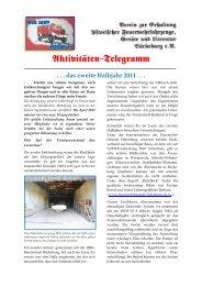 Aktivitäten-Telegramm - Freiwillige Feuerwehr Bückeburg-Stadt