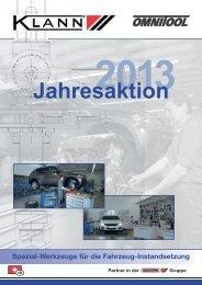 Jahresaktion 2013 - Gedore
