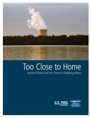 Too Close to Home - Environment America Research and Policy ...