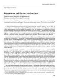 Osteoporose na infância e adolescência - Portal Saúde Brasil