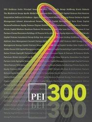 TPG Goldman Sachs Principal Investment Area The ... - PEI Media