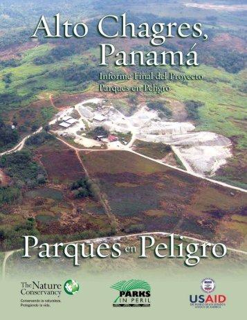 TNC USAID 2008 Informe final Parques en Peligro - CICH