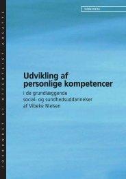 Udvikling af personlige kompetencer - FOA