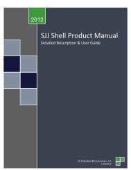 SJJ Shell Product Manual - Annabooks