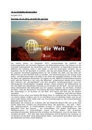 IN 24 STUNDEN UM DIE WELT Ausgabe 2012 Sonntag ... - Target