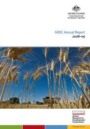 GRDC 2008-2009 Full Annual Report - Grains Research ...
