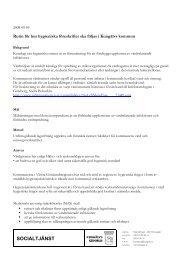 Bilaga 24 Rutin för hygieniska föreskrfiter - Kungälv