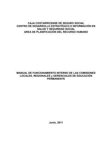CAJA COSTARRICENSE DE SEGURO SOCIAL - CENDEISSS
