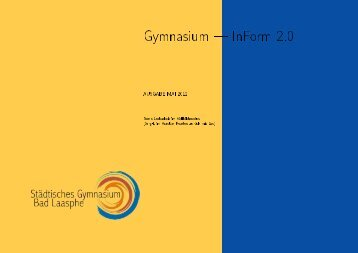 Gymnasium InForm 2.0 - von Horst Gierhardt
