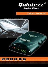Radar Flash manual GB - Quintezz