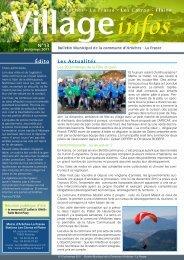bulletin municipal n° 13 - Printemps 2011 - Commune d'Arâches-La ...