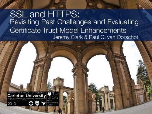 SSL and HTTPS: