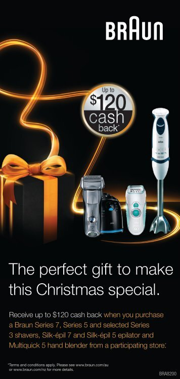 The perfect gift to make this Christmas special. - Braun