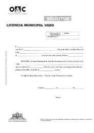 Solicitud Licencia Vado - Ayuntamiento de Linares
