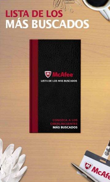 CONOZCA A LOS CIBERLINCUENTES MÁS BUSCADOS - McAfee